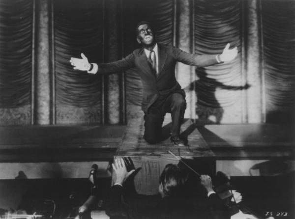 """Al Jolson en """"El Cantor de Jazz"""""""