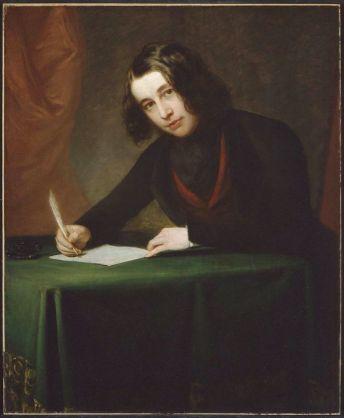 Charles Dickens en 1842. Retrato de Francis Alexander.