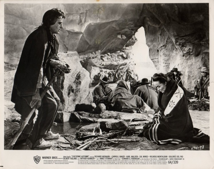 """Fotograma de """"Cheyenne Autumn""""."""