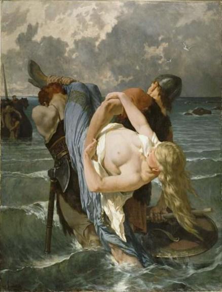 Piratas normandos del siglo IX, por Évariste Vital Luminais (1821-1896).