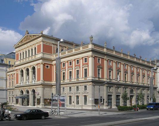 El Wiener Musikverein en 2006.