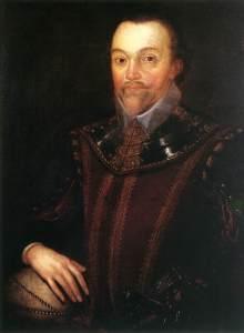 Sir Francis Drake (1590) retratado por Marcus Gheeraerts el Joven.