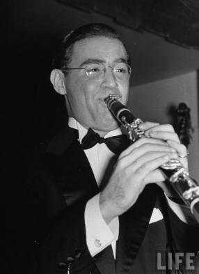 Benny Goodman en 1937.