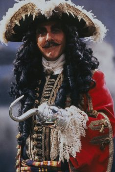 "Dustin Hoffman en ""Hook""."