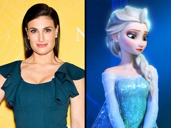 Idina Menzel / Elsa.