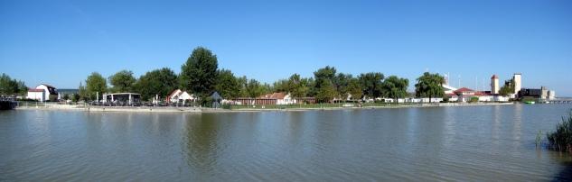 Mörbisch: lago Neusiedl.
