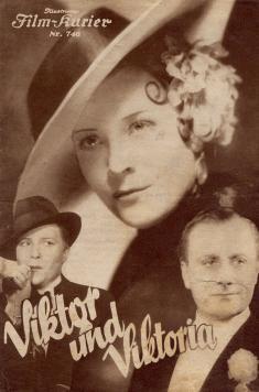 """Afiche de """"Viktor und Viktoria"""" (1933)"""