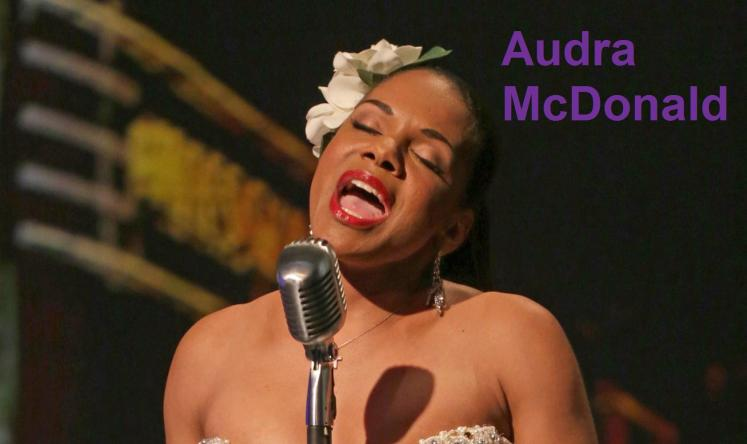 "Audra McDonald como Billie Holiday en ""Lady Day at Emerson's Bar and Grill""."