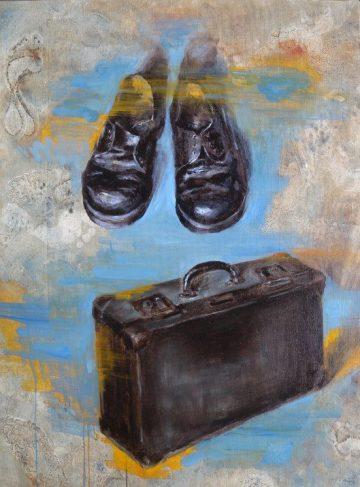 """""""Patrie"""" (2010). Óleo de Daniela Montecinos."""