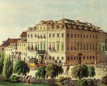 El Theater an der Wien en 1815.