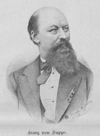 Franz von Suppé en 1885.
