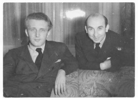 Marcellus Schiffer y Mischa Spoliansky.
