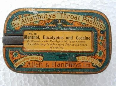 PastillasMentol,EucaliptoyHeroina