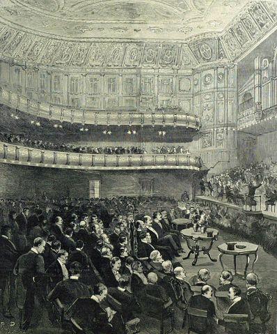 Concierto inaugural del Queen's Hall (1883)