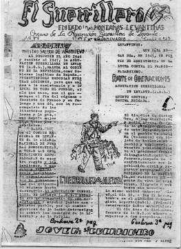 """""""El guerrillero"""", órgano de la Agrupación Guerrillera de Levante."""