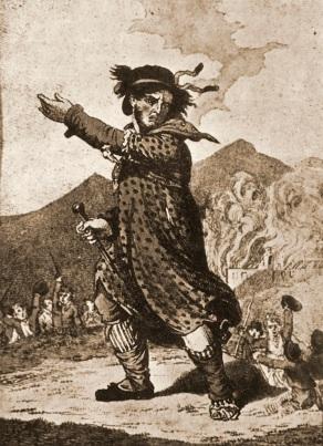 Grabado de 1813 de Ned Ludd.