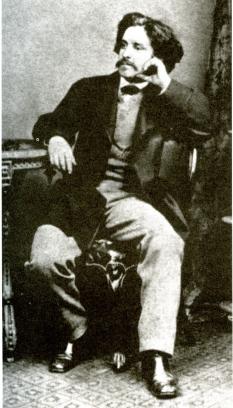 Paul Lafargue en 1871.