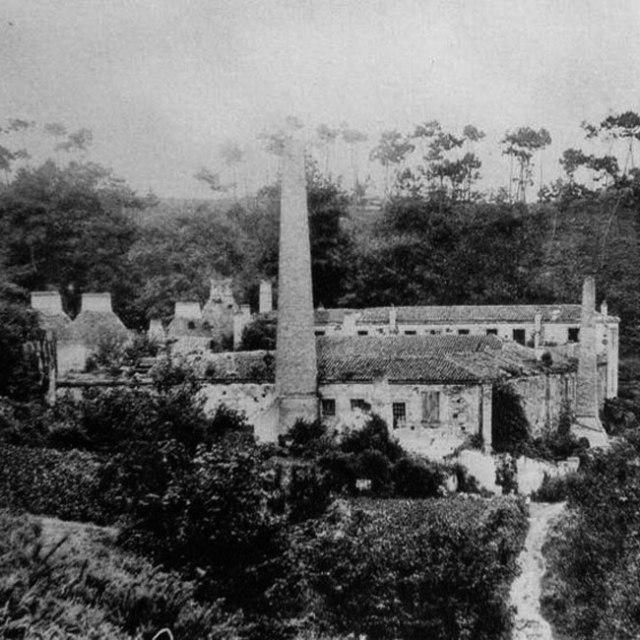 Restos de la antigua siderurgia de Sargadelos.