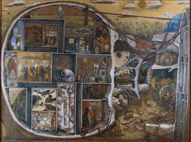 """""""The Maze"""" (1953). William Kurelek"""