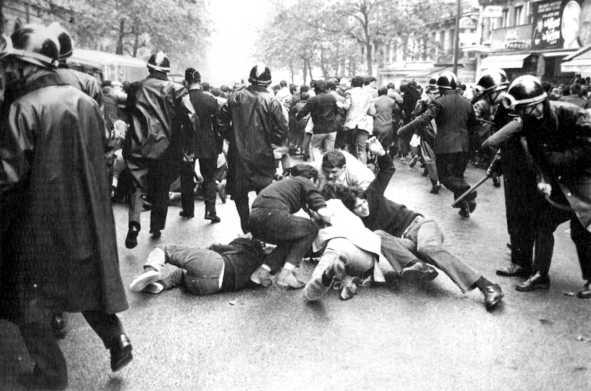 París: 1º de Mayo de 1968.