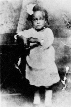 Billie Holiday en 1917.