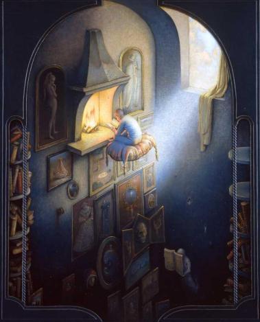 """""""Los libros"""" (2004). Claude Verlinde"""