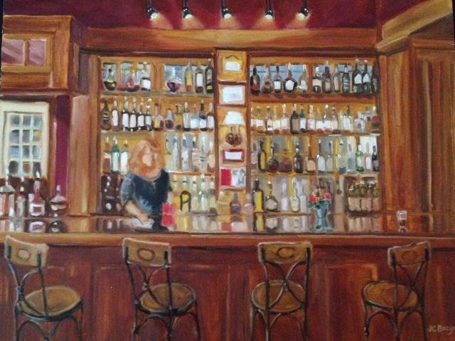 """Lambertville House"" (2012). Jean Childs Buzgo"