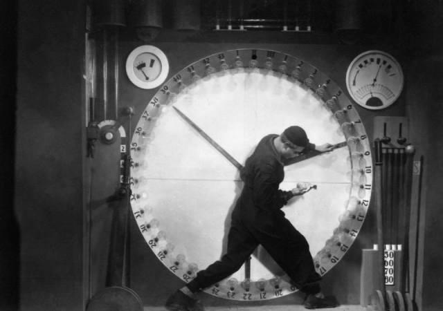 """Fotograma de la película """"Metrópolis"""" (1927), de Fritz Lang."""
