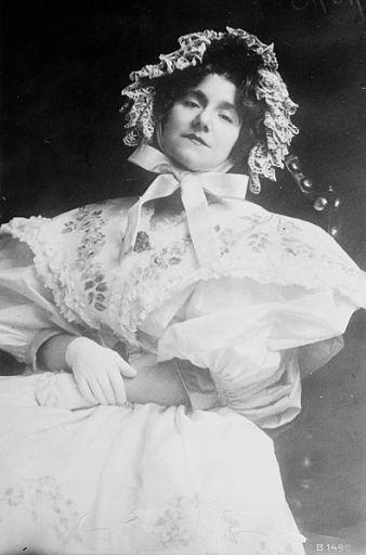 Yvette Guilbert en 1913.
