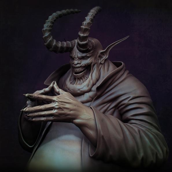 """The Devil"", Nicholas Cort©"