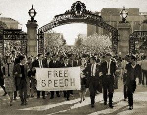 El Free Speech Movement (Berkeley 1964).