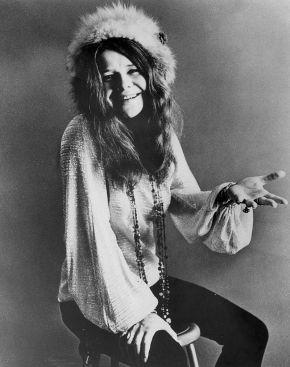 Janis Joplin a mediados de 1967.