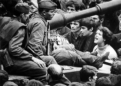 Praga agosto de 1968.