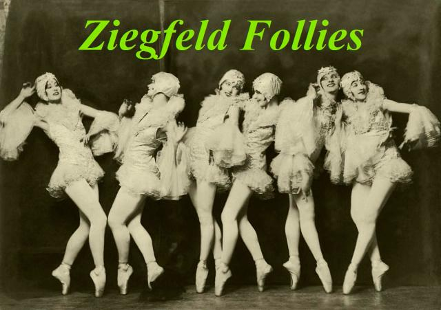 Ziegfeld Model - Non-Risque - Dancers by Alfred Cheney Johnston. Restored by Nick and jane. Enjoy!