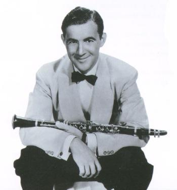 Benny Goodman a mediados de la década de 1930.