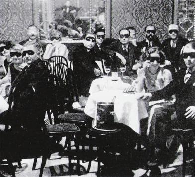 El cabaret Weisse Maus de Berlín en 1924.