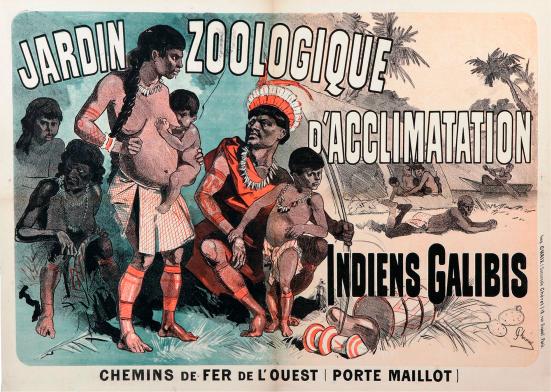 Resultado de imagen de seres humanos expuestos en zoo