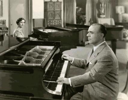 José Iturbi y su hermana, Amparo.