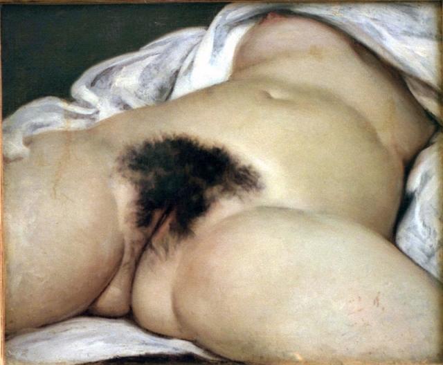 El origen del mundo (1866), óleo de Gustave Courbet.