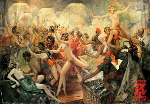 Babilonia. Tema del baile de Quat'z'Arts de 1933.