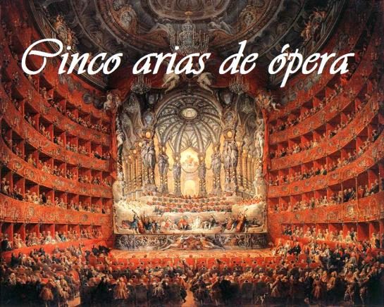 Teatro Argentina de Roma (1747), óleo de Giovanni Paolo Pannini.