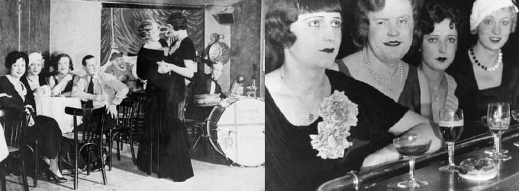 Travestidos en el cabaret Eldorado (1929).