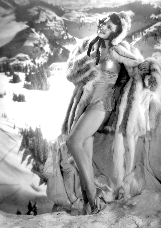 Mary Martin en el estreno de Leave...