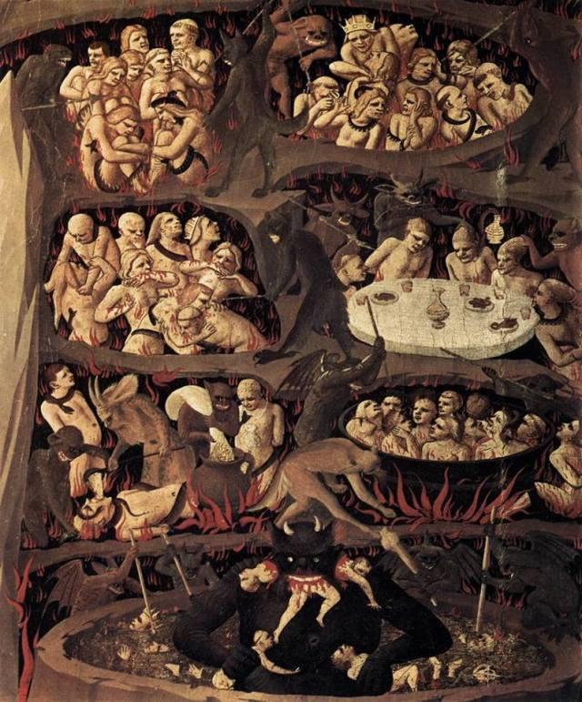 Fresco del piso superior del Convento de San Marcos en Florencia (1432-1450)