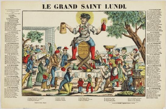 """Le Grand Saint Lundi"" (1837). Jean Wendling"
