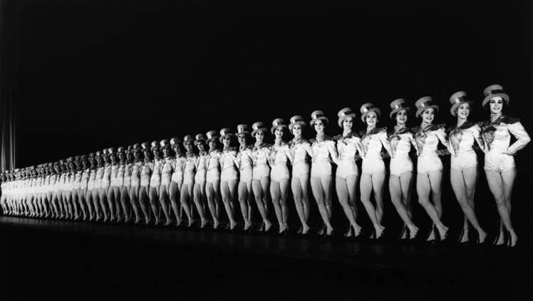 The Rockettes en sus inicios en Radio City