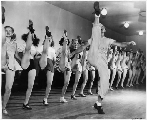 1946, Rockette Rehearsal