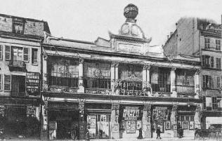 El Folies Bergère en 1872.