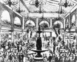 El jardín del Folies Bergère.