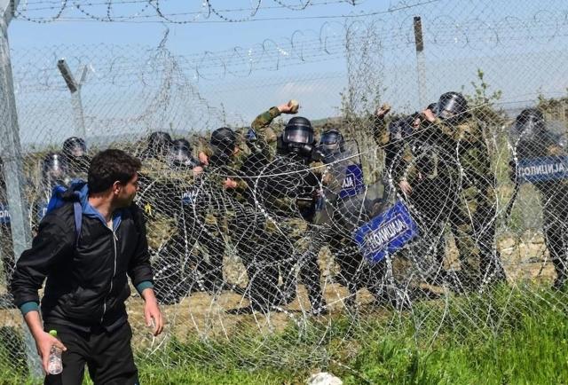 Policías de Macedonia